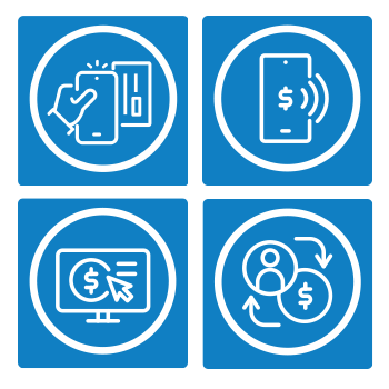 Contactless payment graphic